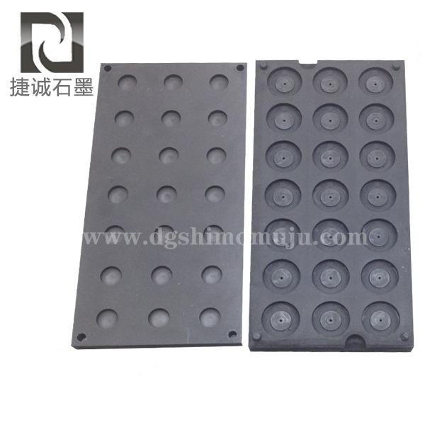 玻璃封装热敏电阻MF58用石墨模具